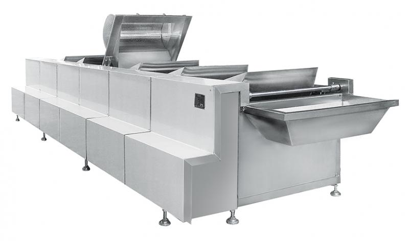 多功能翻斗洗菜机(智能型)