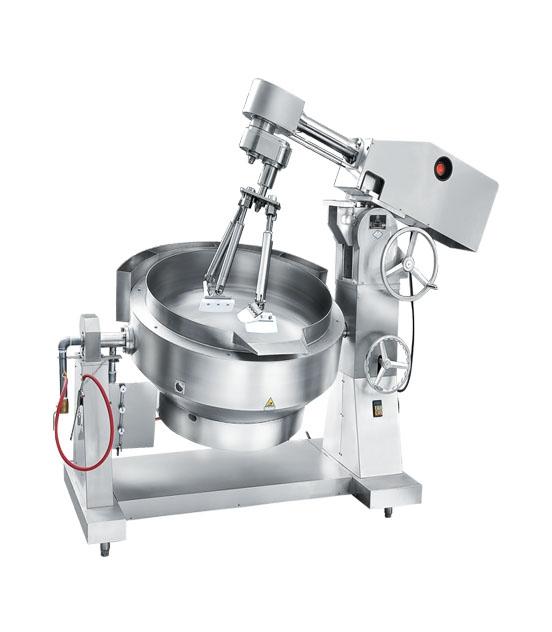 500L自动搅拌炒菜机