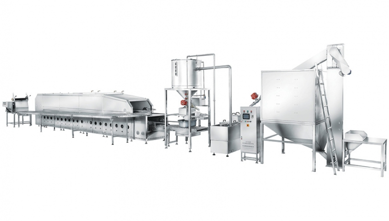 600型联合自动米饭生产线